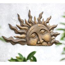 Half Sun Wall Plaque