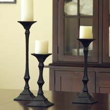 Richmond Candleholders 3 Piece Set