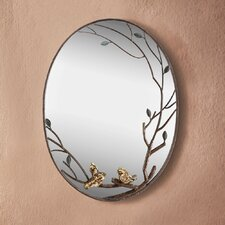 Bird Branch Wall Mirror