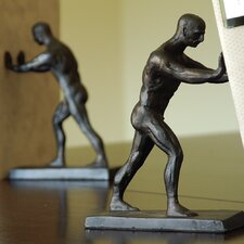 Working Men Book Ends (Set of 2)