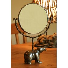 Bear and Fish Mirror