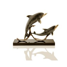 Sailor's Delight Double Dolphins Figurine