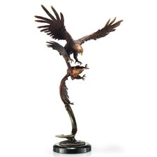 <strong>SPI Home</strong> Double Flying Eagles Figurine