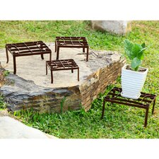 Square Nested Plant Stands (Set of 4)