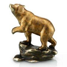 Crouching Bear Figurine