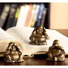Wise Buddha Figurine (Set of 3)