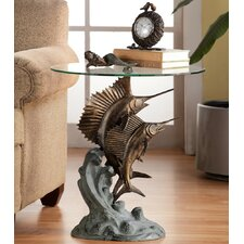 Marlin and Sailfish End Table