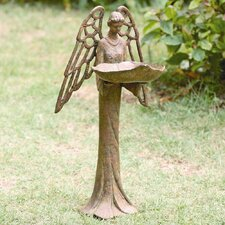 Angel Decorative Bird Feeder