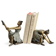 Ballerina Students Book End (Set of 2)