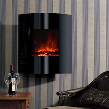 Dream Flame Helix Convex Electric Fireplace