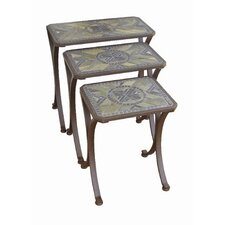 <strong>Paragon Casual</strong> Brookshire 3 Piece Nesting Tables