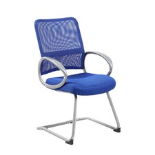 Mesh Back Guest Chair with Loop Arm