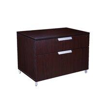 Modular Laminate Series 2-Drawer Lateral File Cabinet