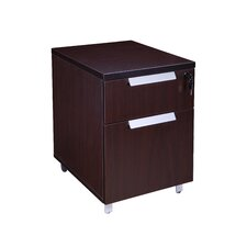 Modular Laminate Series 2 Drawer Vertical Filing Cabinet