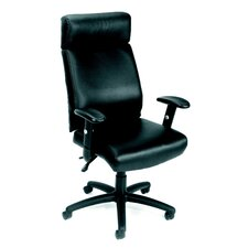 <strong>Boss Office Products</strong> Caressoft High-Back Executive Chair