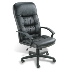 <strong>Boss Office Products</strong> High-Back Leather Office Chair