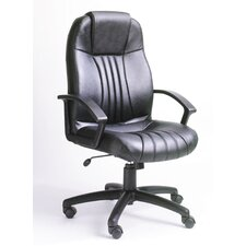 <strong>Boss Office Products</strong> Modern High-Back Leather Executive Chair