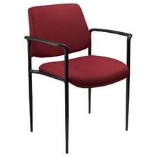 <strong>Boss Office Products</strong> Stackable Chair with Tapered Legs