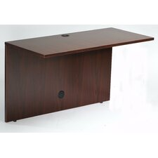 "Case Goods 29"" H x 48"" W Desk Bridge"