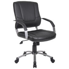 <strong>Boss Office Products</strong> Mid-Back Executive Chair