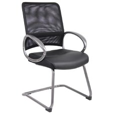 <strong>Boss Office Products</strong> Mesh Guest Chair with Loop Arms