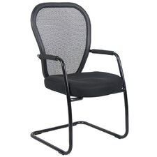 <strong>Boss Office Products</strong> Mesh Guest Chair with Cantilever Sled Base
