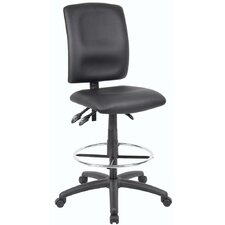 <strong>Boss Office Products</strong> Height Adjustable Drafting Stool with Casters