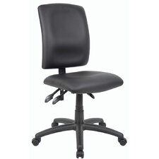 Budget High-Back Task Chair without Arms