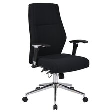 High-Back Contemporary Executive Task Chair
