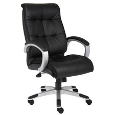 <strong>Boss Office Products</strong> High-Back Double Plush Executive Chair
