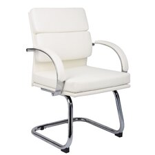 <strong>Boss Office Products</strong> Guest Chair with Padded Arm Rests