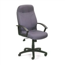 Fabric High-Back Executive Chair