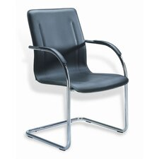 Side Guest Chair with Steel Frame (Set of 4)