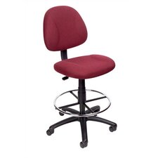 <strong>Boss Office Products</strong> Height Adjustable Drafting Stool with Footring