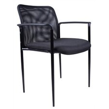 <strong>Boss Office Products</strong> Mesh Stackable Guest Chair