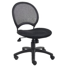 <strong>Boss Office Products</strong> Height Adjustable Mesh Chair with Casters