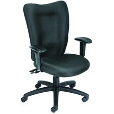 High-Back Fabric Multi-Function Task Chair