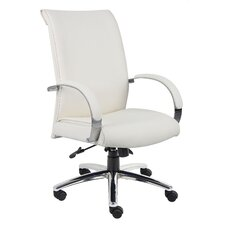 <strong>Boss Office Products</strong> Caressoft Plus High-Back Executive Chair