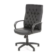 High-Back Button Tufted Executive Chair