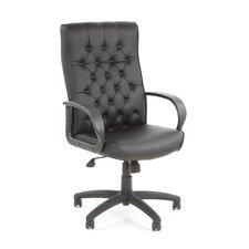 High-Back Button Tufted Executive Chair