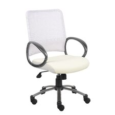 <strong>Boss Office Products</strong> Mid-Back Mesh Task Chair with Loop Arms
