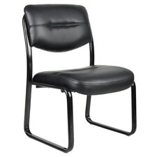 <strong>Boss Office Products</strong> Leather Guest Chair