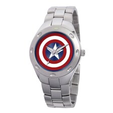 Men's Captain America Bracelet Watch