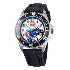 <strong>Marvel</strong> Men's Captain America Honor Watch