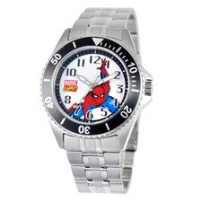 <strong>Marvel</strong> Men's Spider-Man Honor Bracelet Watch