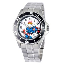Men's Captain America Honor Bracelet Watch