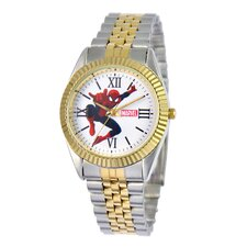 Men's Spider-Man Two-Tone Watch