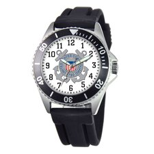 Men's U.S. Coast Guard Honor Rubber Strap Watch