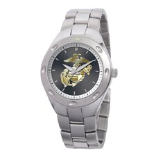Men's U.S. Marine Corps. Bracelet Watch