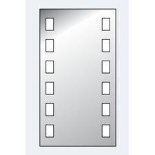 """60cm Beleuchteter Spiegel """"Visagist"""""""